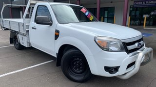 2011 Ford Ranger PK XL (4x2) White 5 Speed Manual Cab Chassis.