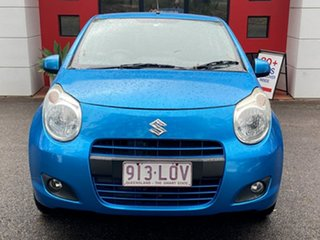 2009 Suzuki Alto GF GL Metallic Blue 5 Speed Manual Hatchback