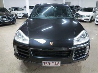 2010 Porsche Cayenne 9PA MY10 Diesel Black 6 Speed Sports Automatic Wagon.