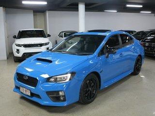 2015 Subaru WRX V1 MY15 Premium Lineartronic AWD Hyper Blue 8 Speed Constant Variable Sedan.