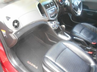 2012 Holden Barina TM MY13 CDX Red 6 Speed Automatic Hatchback