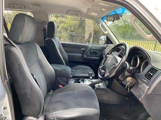 2008 Mitsubishi Pajero NT MY09 R Silver 5 Speed Sports Automatic Hardtop