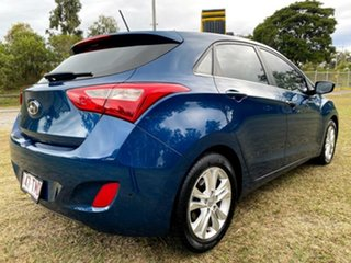 2013 Hyundai i30 GD MY14 Elite Blue 6 Speed Manual Hatchback.