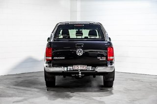 2018 Volkswagen Amarok 2H MY18 TDI550 4MOTION Perm Sportline Black 8 Speed Automatic Utility