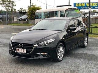 2018 Mazda 3 BN5478 Maxx Sport Black 6 Speed Sports Automatic Hatchback.