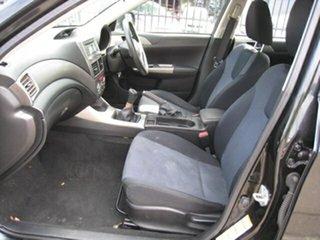 2009 Subaru Impreza MY09 R (AWD) Black 5 Speed Manual Hatchback