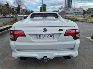 2011 Holden Special Vehicles Maloo E Series 3 MY12 R8 SV Black Edition White 6 Speed