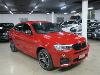 2014 BMW X4 F26 xDrive20d Coupe Steptronic Melbourne Red 8 Speed Automatic Wagon.