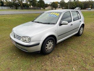 2003 Volkswagen Golf 4th Gen MY03 Generation Silver 5 Speed Manual Hatchback.
