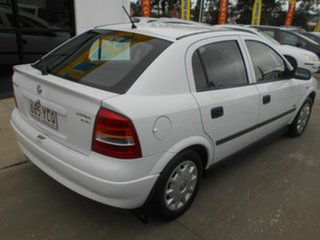 2000 Holden Astra TS City White 5 Speed Manual Hatchback