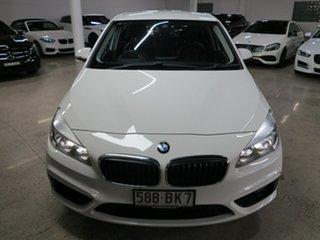 2015 BMW 2 Series F45 218i Active Tourer Steptronic Sport Line White 6 Speed Automatic Hatchback.