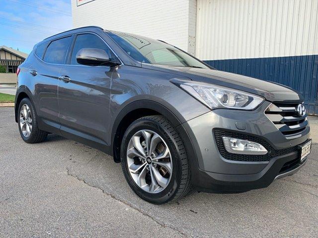Used Hyundai Santa Fe DM2 MY15 Highlander Cheltenham, 2014 Hyundai Santa Fe DM2 MY15 Highlander Grey 6 Speed Sports Automatic Wagon