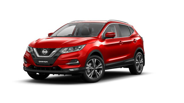 New Nissan Qashqai J11 Series 3 MY20 ST-L X-tronic Cardiff, 2021 Nissan Qashqai J11 Series 3 MY20 ST-L X-tronic Magnetic Red 1 Speed Constant Variable Wagon