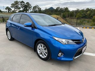 2014 Toyota Corolla ZRE182R Ascent Sport Blue 6 Speed Manual Hatchback.