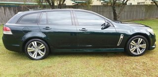 2013 Holden Commodore VF MY14 SV6 Sportwagon Green 6 Speed Sports Automatic Wagon.