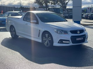 2014 Holden Ute SV6 White Sports Automatic Utility - Extended Cab.