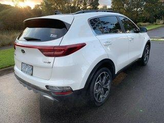 2020 Kia Sportage QL GT-Line White Sports Automatic Wagon.