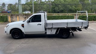 2011 Ford Ranger PK XL (4x2) White 5 Speed Manual Cab Chassis