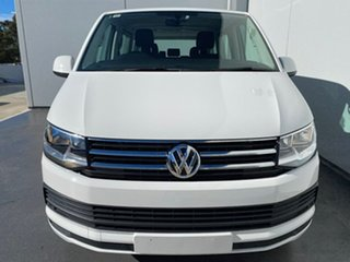 2017 Volkswagen Multivan T6 MY18 TDI340 SWB DSG Comfortline White 7 Speed.