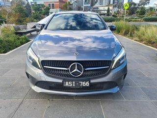 2018 Mercedes-Benz A-Class W176 808+058MY A180 D-CT Grey 7 Speed Sports Automatic Dual Clutch