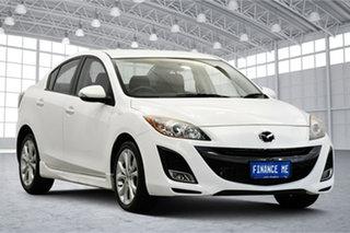 2010 Mazda 3 BL10L1 SP25 Activematic White 5 Speed Sports Automatic Sedan.