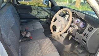 2012 Nissan Navara D22 Series 5 DX (4x2) White 5 Speed Manual Cab Chassis
