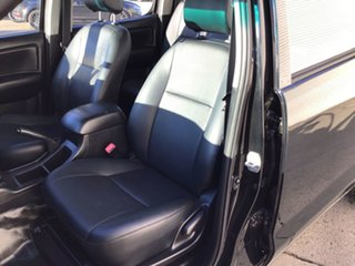 2014 Toyota Hilux TGN16R MY14 Workmate 4x2 Black 5 Speed Manual Cab Chassis