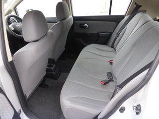 2009 Nissan Tiida C11 MY07 ST Akoya Silver 4 Speed Automatic Hatchback