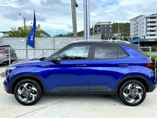 2021 Hyundai Venue QX.V3 MY21 Elite Intense Blue (phantom Black Ro 6 Speed Automatic Wagon.