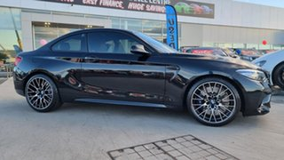 2018 BMW M2 F87 LCI Competition M-DCT Black Sapphire 7 Speed Sports Automatic Dual Clutch Coupe
