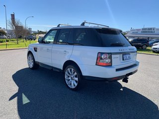 2013 Land Rover Range Rover MY12 Sport 3.0 SDV6 White 6 Speed Automatic Wagon