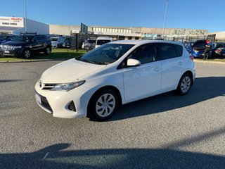 2012 Toyota Corolla ZRE182R Ascent White 7 Speed CVT Auto Sequential Hatchback.