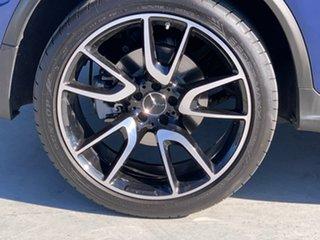 2018 Mercedes-Benz GLC-Class X253 808MY GLC43 AMG 9G-Tronic 4MATIC Blue 9 Speed Sports Automatic