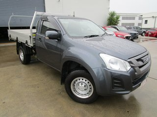 2018 Isuzu D-MAX MY17 SX 4x2 High Ride Grey 6 Speed Sports Automatic Cab Chassis.