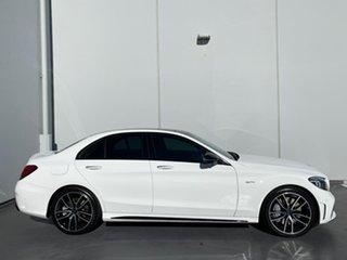 2020 Mercedes-Benz C-Class W205 801MY C43 AMG 9G-Tronic 4MATIC White 9 Speed Sports Automatic Sedan.