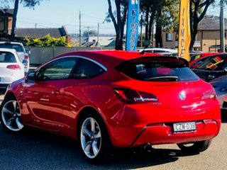 2015 Holden Astra PJ MY16 GTC Red 6 Speed Automatic Hatchback.