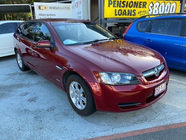 Used Holden Commodore Morayfield, 2009 Holden Commodore VE OMEGA MY10 Red 6 Speed Auto Active Select Sportswagon