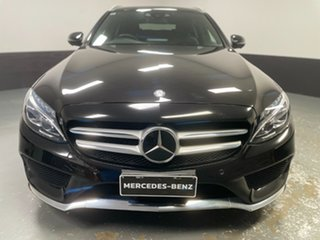 2017 Mercedes-Benz C-Class S205 807+057MY C250 Estate 9G-Tronic Black 9 Speed Sports Automatic Wagon.