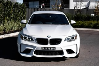 2017 BMW M2 F87 Pure White 6 Speed Manual Coupe