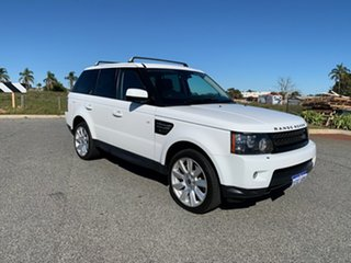 2013 Land Rover Range Rover MY12 Sport 3.0 SDV6 White 6 Speed Automatic Wagon.