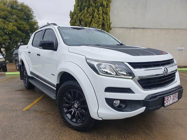 Used Holden Colorado RG MY17 Z71 Pickup Crew Cab Toowoomba, 2017 Holden Colorado RG MY17 Z71 Pickup Crew Cab White 6 Speed Sports Automatic Utility