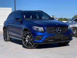 2018 Mercedes-Benz GLC-Class X253 808MY GLC43 AMG 9G-Tronic 4MATIC Blue 9 Speed Sports Automatic.