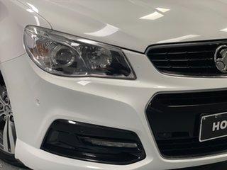 2015 Holden Commodore VF II MY16 SV6 White 6 Speed Sports Automatic Sedan.