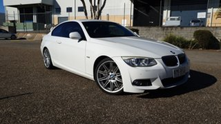 2010 BMW 330d E92 MY10 White 7 Speed Auto Direct Shift Coupe.