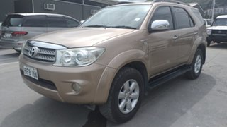 2011 Toyota Fortuner Golden Brown Automatic Wagon.