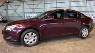 2012 Holden Cruze JH Series II MY12 CD Maroon 6 Speed Sports Automatic Sedan.