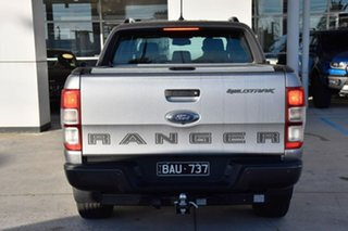 2019 Ford Ranger PX MkIII 2019.00MY Wildtrak Silver 6 Speed Sports Automatic Double Cab Pick Up.