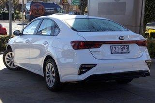 2019 Kia Cerato BD MY20 S White 6 Speed Sports Automatic Sedan.