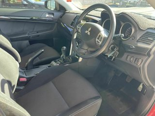 2016 Mitsubishi Lancer CF ES Sport Red 5 Speed Manual Sedan