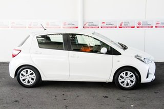 2020 Toyota Yaris NCP130R MY18 Ascent Crystal Pearl 4 Speed Automatic Hatchback